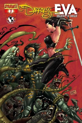 The Darkness vs Eva - Daughter of Dracula #1-4 Complete