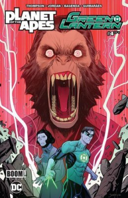 Planet of the Apes - Green Lantern #4