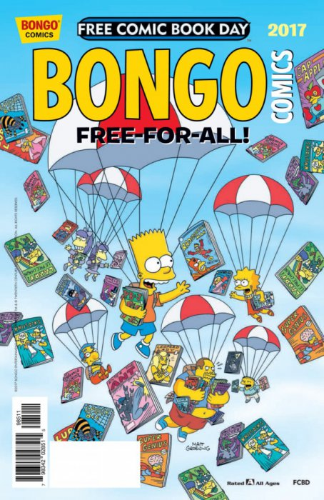 Bongo Comics Free-For-All! 2017