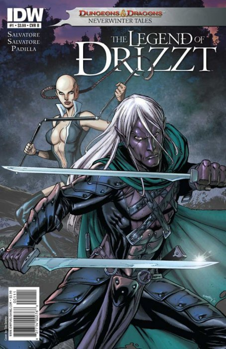 Dungeons and Dragons – The Legend of Drizzt – Neverwinter Tales #1-5 Complete