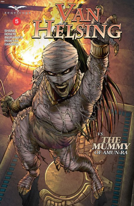 Van Helsing Vs The Mummy Of Amun-Ra #5