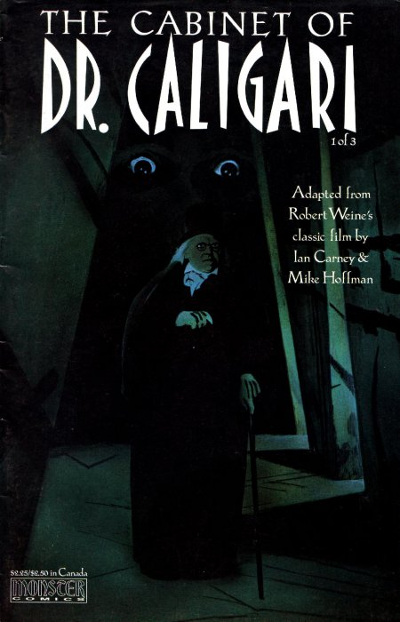 Cabinet of Dr. Caligari #1-3 Complete