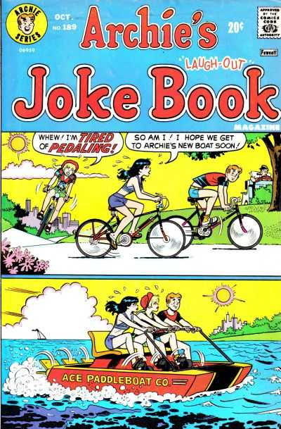 Archie's Joke Book Magazine Collection