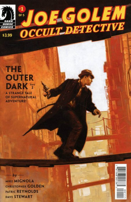 Joe Golem - The Outer Dark #1