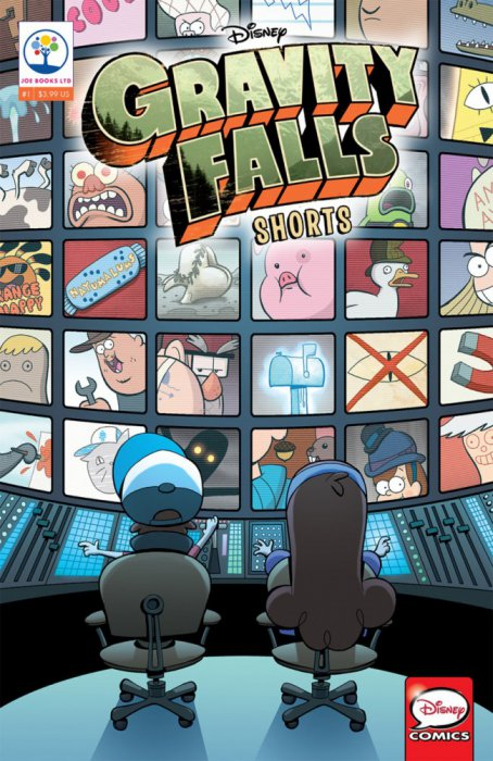 Gravity Falls Shorts Cinestory Comic #1