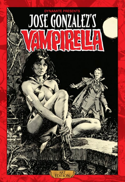Jose Gonzalez's Vampirella Art Edition Vol.1