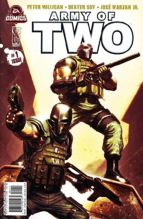 Army of Two #1-6+TPB Complete