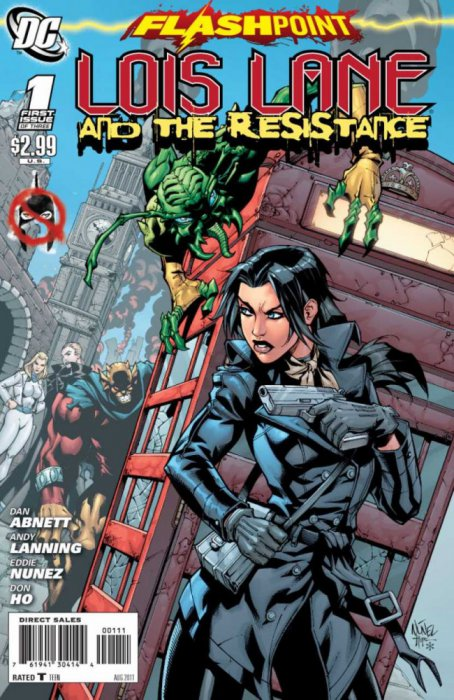 Flashpoint - Lois Lane and the Resistance #1-3 Complete