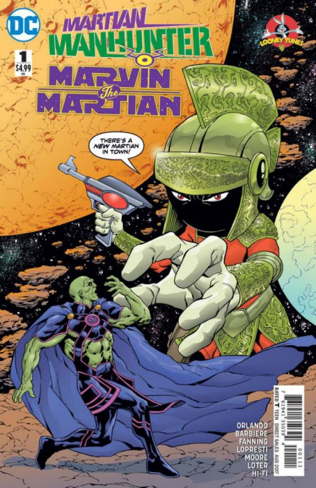 Martian Manhunter - Marvin the Martian Special #1
