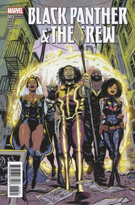 Black Panther - the Crew #3