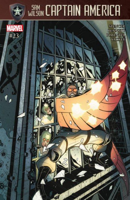 Captain America - Sam Wilson #23