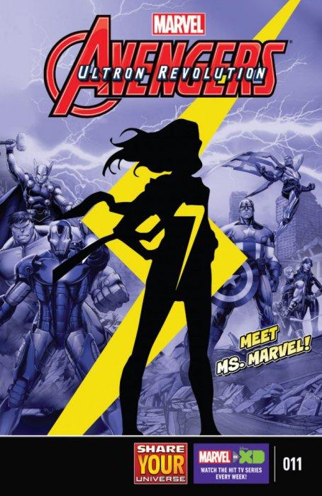 Marvel Universe Avengers - Ultron Revolution #11