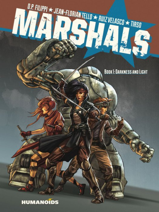 Marshals - Book #1-4 Complete