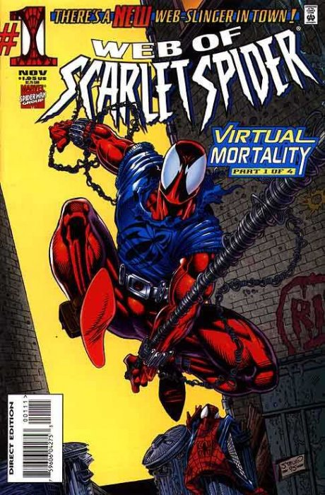 Web of Scarlet Spider #1-4 Complete