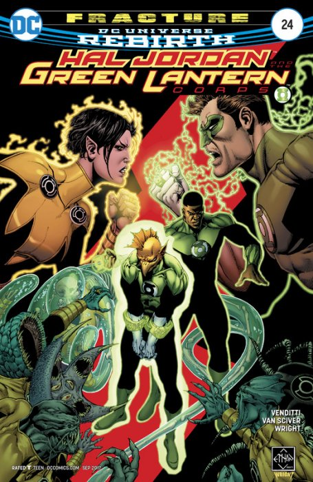 Hal Jordan And The Green Lantern Corps #24