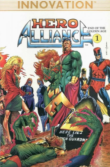 Hero Alliance End of the Golden Age #1-3 Complete