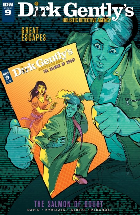 Dirk Gently's Holistic Detective Agency - The Salmon of Doubt #9