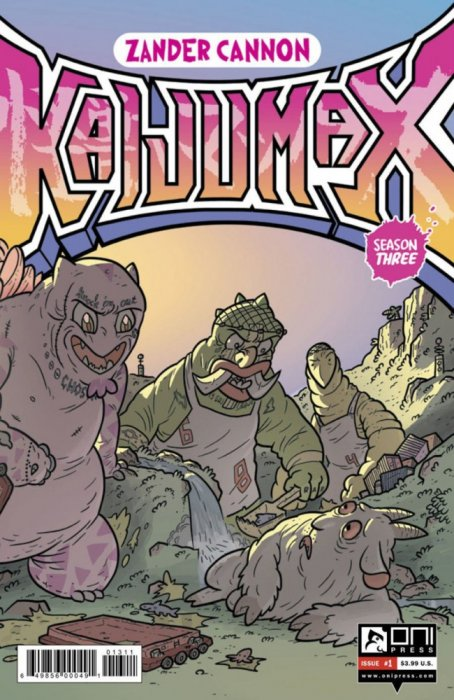 Kaijumax - Season Three #1