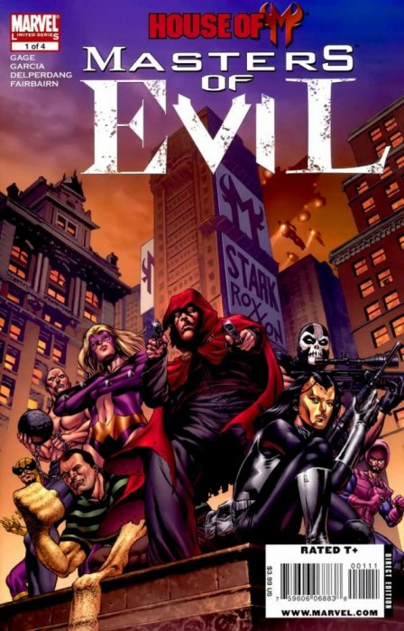 House of M - Masters of Evil #1-4 Complete