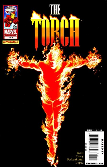 The Torch #1-8 Complete