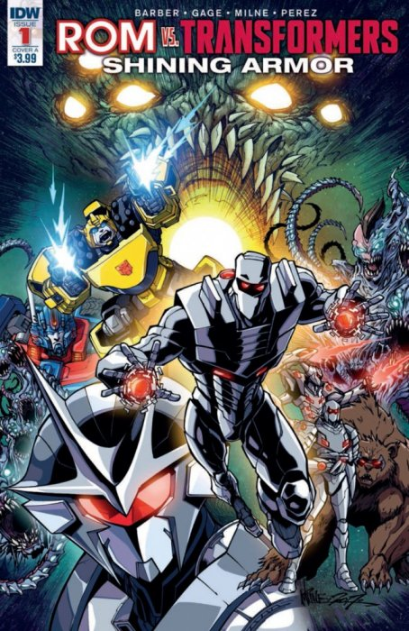 ROM vs Transformers - Shining Armor #1