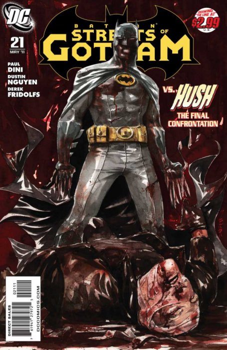 Batman – Streets of Gotham #1-21 Complete