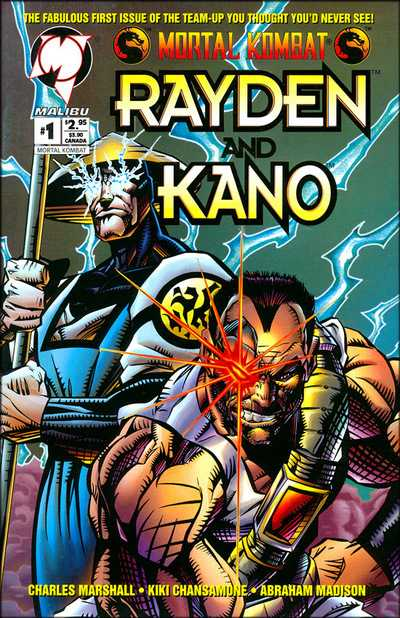 Mortal Kombat - Rayden and Kano #1-3 Complete