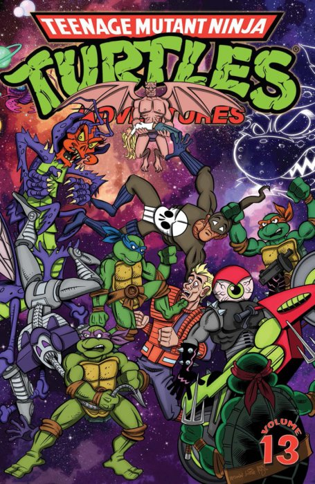 Teenage Mutant Ninja Turtles Adventures Vol.13