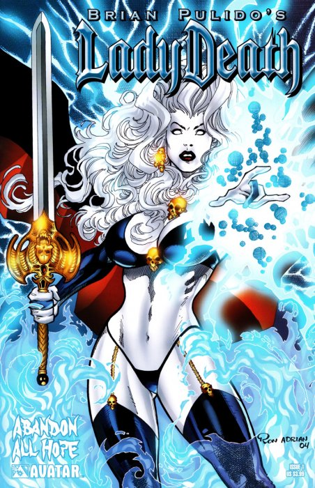 Lady Death - Abandon All Hope #0-4 Complete