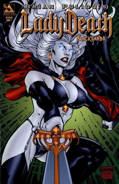 Lady Death - Blacklands #1-4 Complete