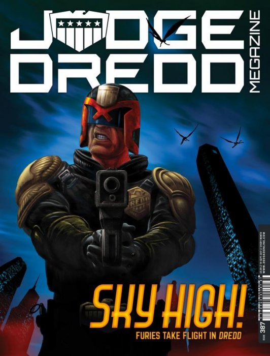 Judge Dredd The Megazine #387