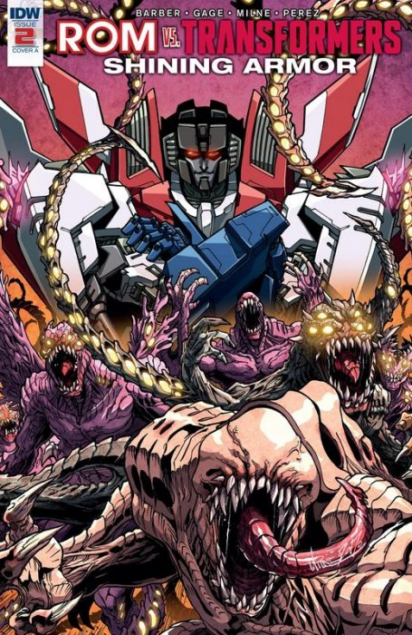 ROM vs Transformers - Shining Armor #2