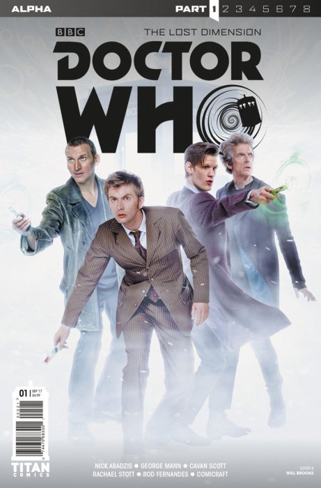 Doctor Who - The Lost Dimension Alpha #1