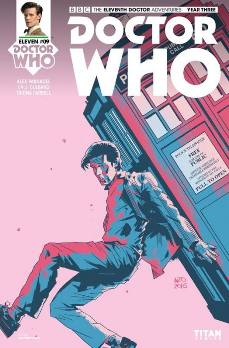 Doctor Who - The Eleventh Doctor Year Three #9