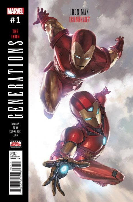 Generations - Iron Man & Ironheart #1