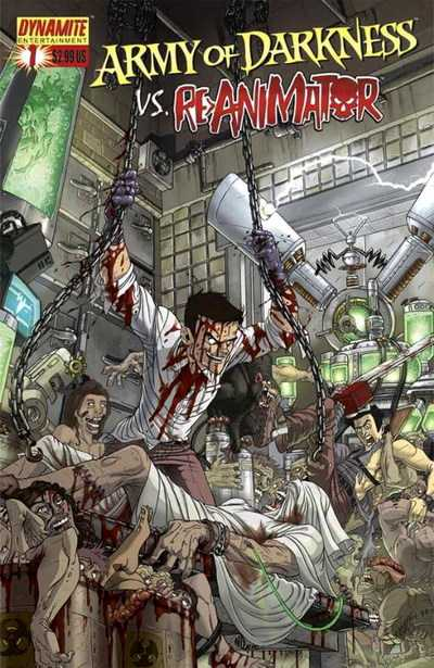 Army of Darkness vs. Re-Animator #1-4+TPB Complete