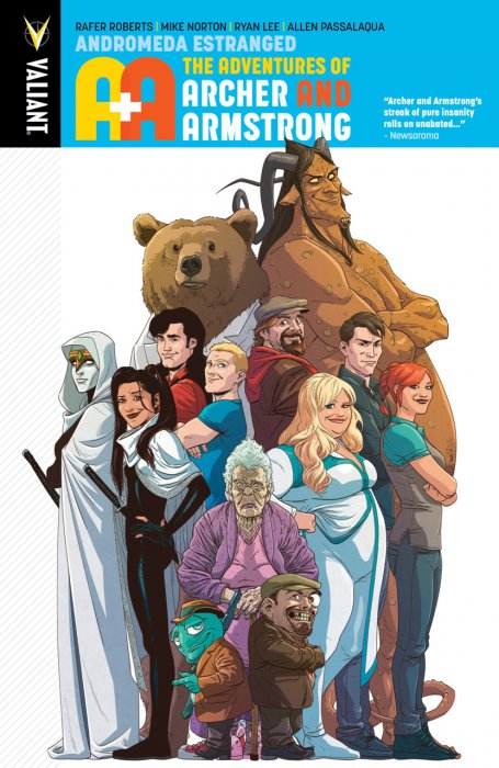 A&A - The Adventures of Archer & Armstrong Vol.3 - Andromeda Estranged