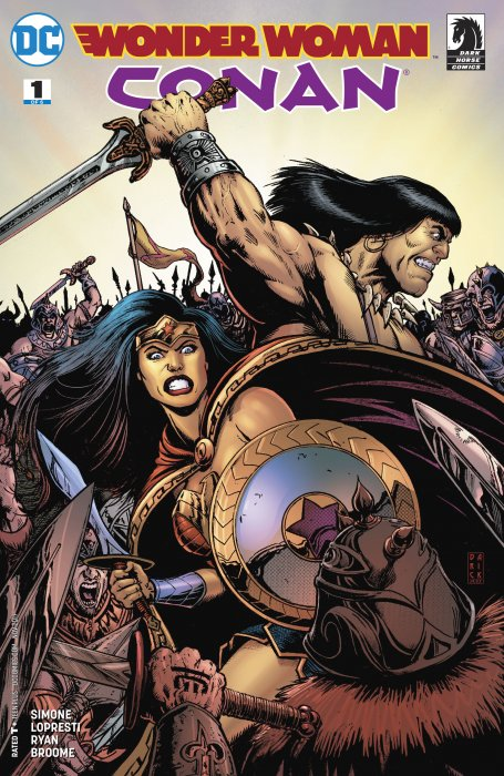 Wonder Woman - Conan #1