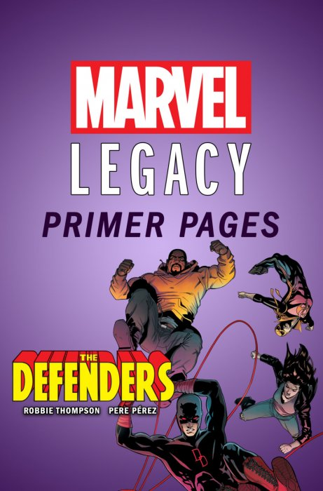 Defenders - Marvel Legacy Primer Pages #1