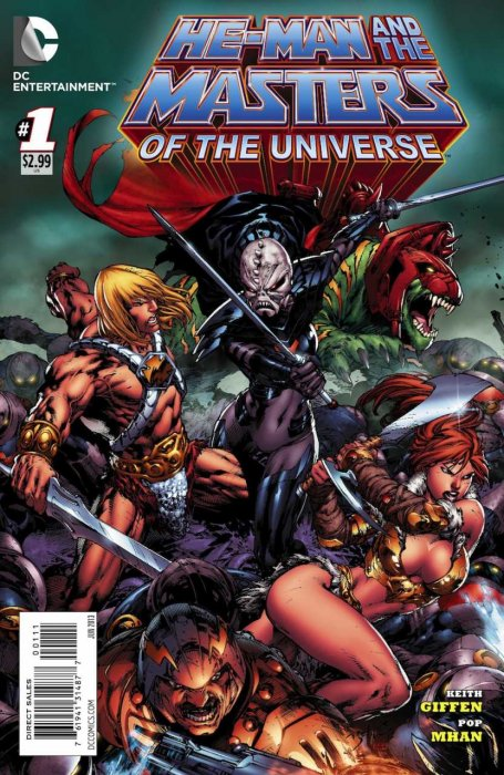 He-Man and the Masters of the Universe #1-19 Complete