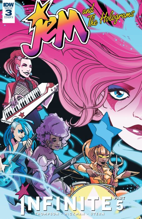 Jem and the Holograms - The Misfits - Infinite #3