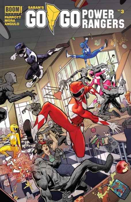 Saban's Go Go Power Rangers #3