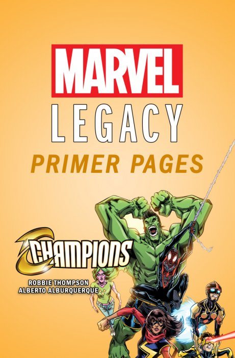 Champions - Marvel Legacy Primer Pages #1
