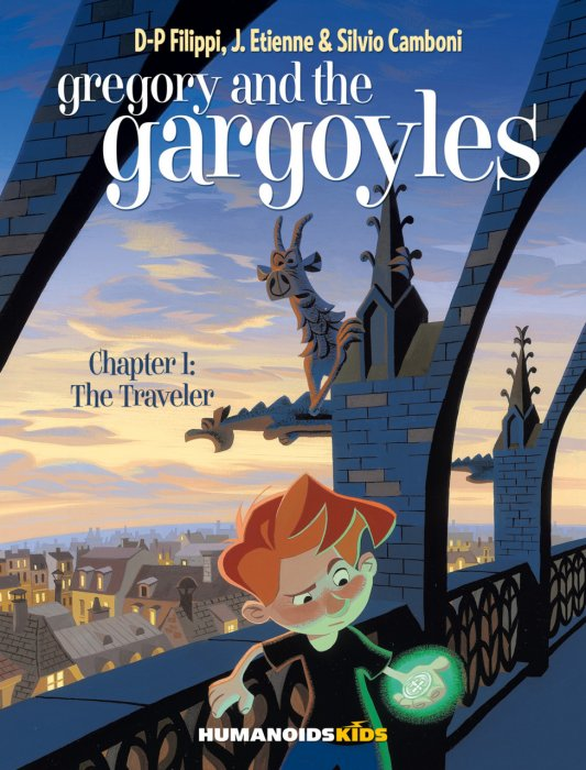 Gregory and the Gargoyles #1 - The Traveler
