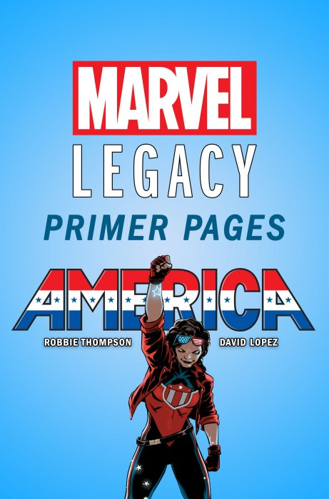 America - Marvel Legacy Primer Pages #1