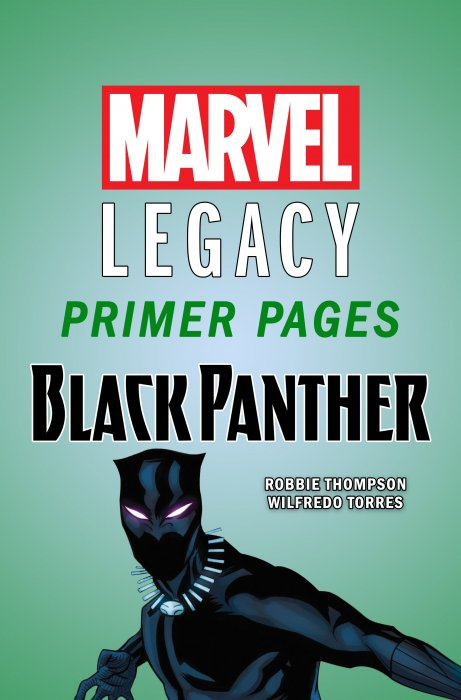 Black Panther - Marvel Legacy Primer Pages #1