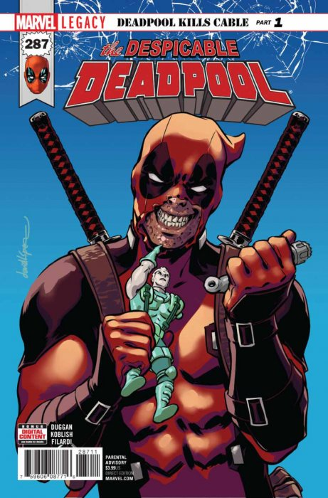 Despicable Deadpool #287