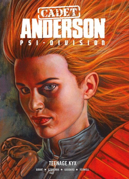 Cadet Anderson, Psi-Division Vol.1 - Teenage Kyx