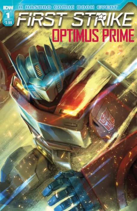 Optimus Prime First Strike #1