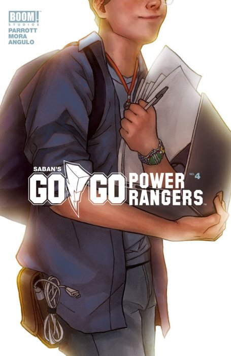 Saban's Go Go Power Rangers #4